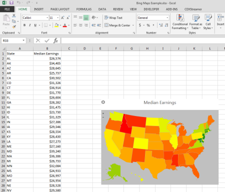 CDX Technologies | 6 Free Excel Apps for Use with Location ...