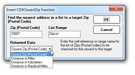 What Is A Zip Code >> Cdx Technologies Finding The Closest Zip Code